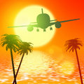 Paradise travel Stock Photography