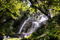 Paradise waterfall Royalty Free Stock Photos