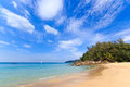 Paradisiac beach in Phuket Stock Photo