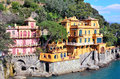 Paraggi portofino italy ancient fishing village in liguria Royalty Free Stock Photo