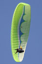 Paraglider is the one of the favourite extreme sport Stock Photos