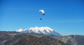 Paragliding adventure Royalty Free Stock Photo