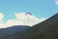 Paragliding. Royalty Free Stock Photo