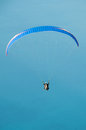 Paragliding panoramic view in turkey on mediterranean Stock Photography