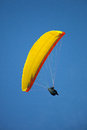 Paragliding risk sport Royalty Free Stock Image