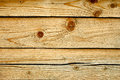 Parallel wooden cracked logs close up Royalty Free Stock Image