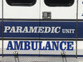 Paramedic Unit - Ambulance Royalty Free Stock Image