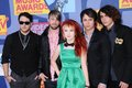 Paramore at the mtv video music awards paramount pictures studios los angeles ca Royalty Free Stock Photo
