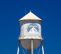 Paramount Pictures Water Tower and Sign Royalty Free Stock Photo