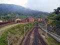 Paranapiacaba village english style town near são paulo city Royalty Free Stock Image