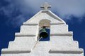 Paraportiani greek orthodox church in mykonos greece island Stock Photo
