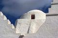Paraportiani greek orthodox church in mykonos greece island Royalty Free Stock Image
