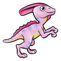 Parasaurolophus Dinosaur Cartoon Character
