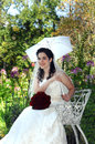 Parasol with Smile Royalty Free Stock Photo