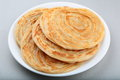Parathas crispy wheat a popular flat bread in asia Stock Image
