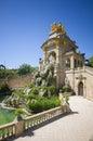 Parc de la ciutadella in barcelona spain may city Royalty Free Stock Photography