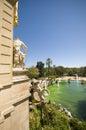 Parc de la ciutadella in barcelona spain may city Stock Photo