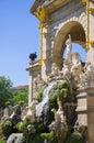 Parc de la ciutadella in barcelona spain may city Royalty Free Stock Photos