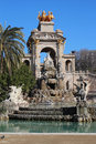 Parc de la ciutadella ciutadella park is a in ciutat vella barcelona catalonia after its establishment during the mid th Stock Photo