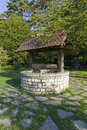 Parc de la tête d or wishing well located within the one of lyon s largest urban parks Royalty Free Stock Photo