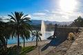 Parc del mar in palma de mallorca Royalty Free Stock Images