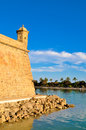 Parc del mar in palma de mallorca Stock Photo