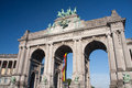 Parc du cinquantenaire Royalty Free Stock Photo