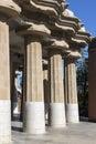 Parc Guell Hiszpania - Barcelona - Zdjęcia Royalty Free