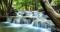 Parc national de sri nakarin huay mae khamin waterfalls Photographie stock