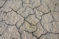 Parched crannied earth Stock Photo