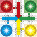 Parchis Obraz Royalty Free