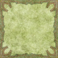 Parchment with decorative border Royalty Free Stock Photo