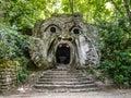 Parco dei Mostri in Bomarzo, province of Viterbo, Lazio, Italy Royalty Free Stock Photo