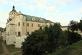 Pardubice chateau the rennaisance in czech republic Royalty Free Stock Image