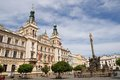 Pardubice - Perstynske square Royalty Free Stock Photo