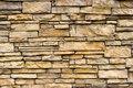 Parede de pedra áspera Imagem de Stock