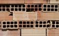 Parede de tijolo imagem conservada em estoque Fotos de Stock