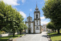 Paredes de coura in norte region portugal church of the holy spirit th century baroque Stock Photography