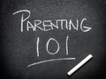 Parenting course Royalty Free Stock Photo