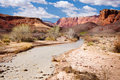 Paria River and Vermillion Cliffs in Arizona Royalty Free Stock Photos