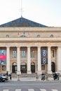 Parijs frankrijk maart odeon theater de l europe het werd oorspronkelijk gebouwd tussen en in parijs frankrijk op maart Stock Foto
