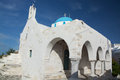 Parikia paros greece is a city in the cyclades it is located at the island of Stock Photography
