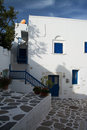 Parikia paros greece is a city in the cyclades it is located at the island of Stock Photo