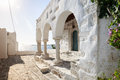 Parikia paros island the beautiful village of in the of greece Stock Images