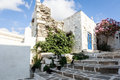 Parikia paros island the beautiful village of in the of greece Royalty Free Stock Photography