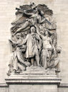 Paris - Arc de Triomphe [1] Royalty Free Stock Photo