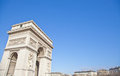 Paris - Arc de Triomphe Fotografia de Stock Royalty Free