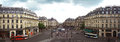 Paris aug panoramic view of place de l opera on august in opera square is a square in the th arrondissement just north of Stock Photos