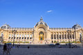 Paris august the petit palais facade on august in paris france Royalty Free Stock Image
