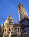 Paris - Basilica Sacre couer Stock Photos